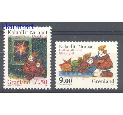 Grenlandia 2011 Mi 597-598 Czyste **