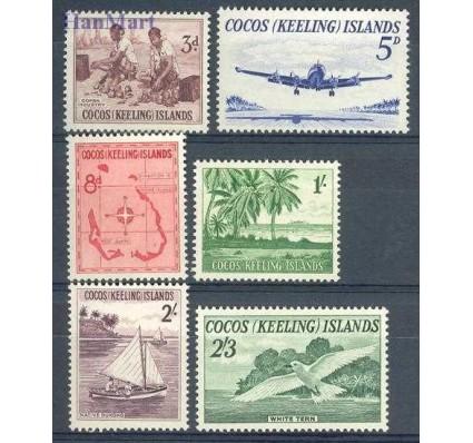 Znaczek Wyspy Kokosowe / Keelinga 1963 Mi 1-6 Z podlepką *