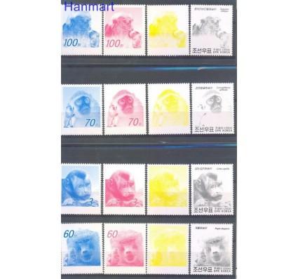 Znaczek Korea Północna 2004 Mi 4723-4726 Czyste **