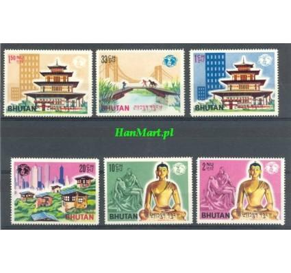 Znaczek Bhutan 1965 Mi 58-63 Czyste **