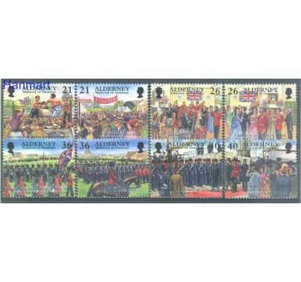 Znaczek Alderney 2000 Mi 158-165 Czyste **