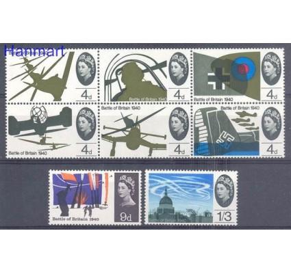 Znaczek Wielka Brytania 1965 Mi 394-401x Czyste **