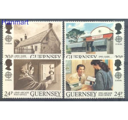 Znaczek Guernsey 1990 Mi 483-486 Czyste **
