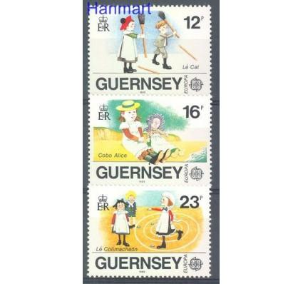 Znaczek Guernsey 1989 Mi 449-451 Czyste **