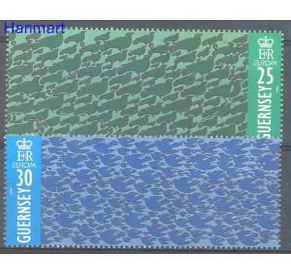 Znaczek Guernsey 1995 Mi 670-671 Czyste **
