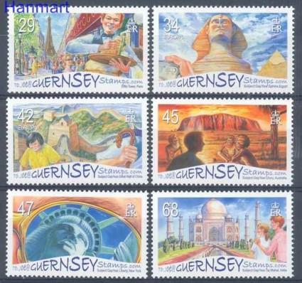 Znaczek Guernsey 2006 Mi 1077-1082 Czyste **