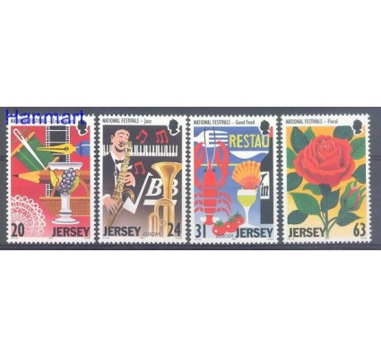 Jersey 1998 Mi 827-830 Czyste **