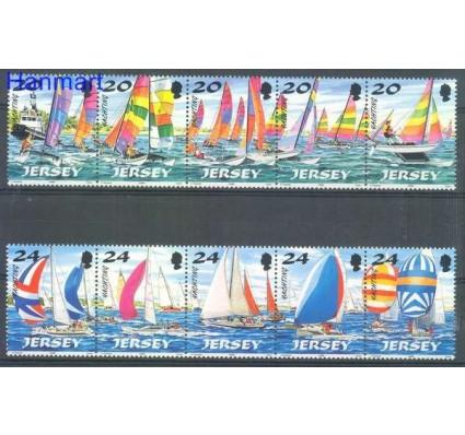 Znaczek Jersey 1998 Mi 831-840 Czyste **