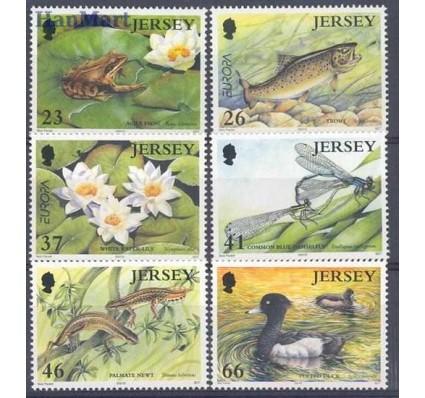 Znaczek Jersey 2001 Mi 980-985 Czyste **