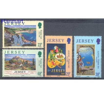 Znaczek Jersey 2003 Mi 1070-1073 Czyste **