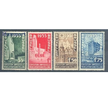 Belgia 1934 Mi 378-381 Czyste **