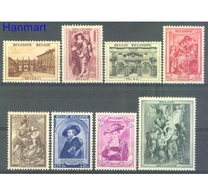 Znaczek Belgia 1939 Mi 506-513 Czyste **