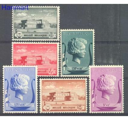 Znaczek Belgia 1940 Mi 529-534 Czyste **