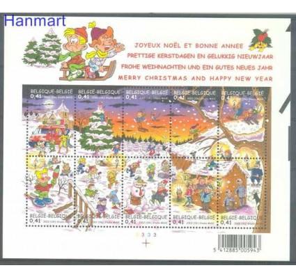 Znaczek Belgia 2002 Mi ark 3151-3160 Czyste **