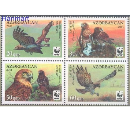 Znaczek Azerbejdżan 2011 Mi 893-896 Czyste **