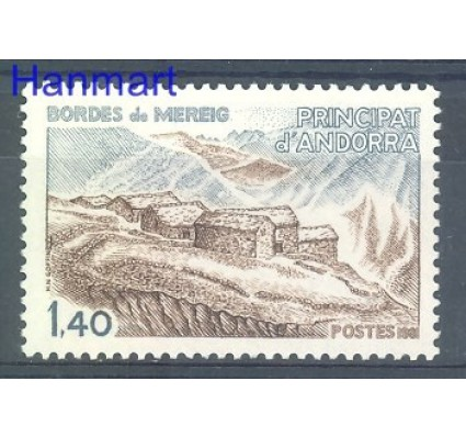Andora Francuska 1981 Mi 312 Czyste **