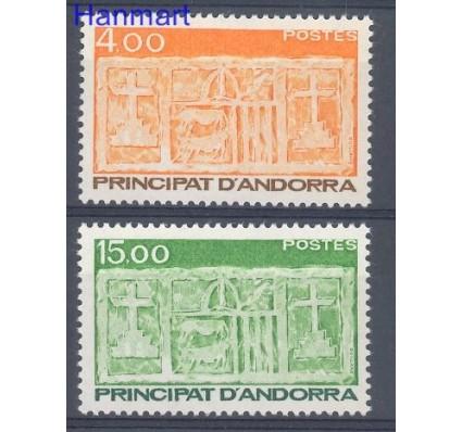 Znaczek Andora Francuska 1986 Mi 367-368 Czyste **