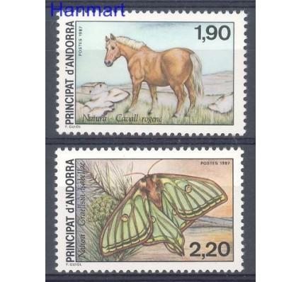 Znaczek Andora Francuska 1987 Mi 382-383 Czyste **