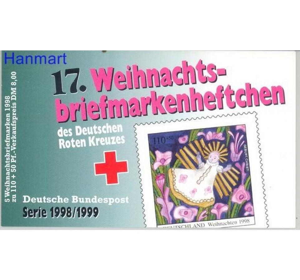 Niemcy 1998 Mi mh 2024 Czyste **