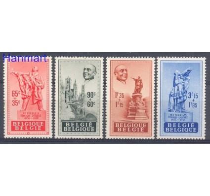 Znaczek Belgia 1948 Mi 824-827 Czyste **