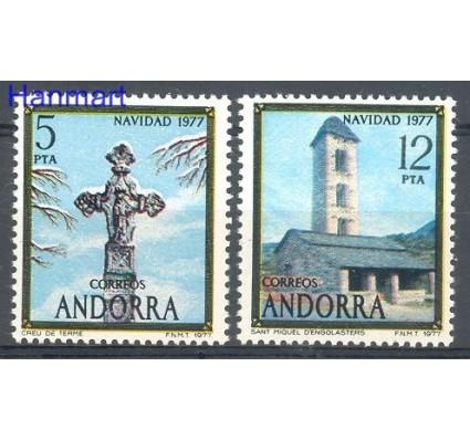 Znaczek Andora Hiszpańska 1977 Mi 109-110 Czyste **