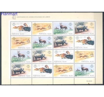 Portugalia 1984 Mi ark 1617-1620 Czyste **