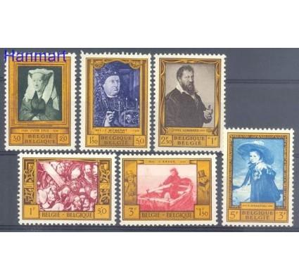 Znaczek Belgia 1958 Mi 1119-1124 Czyste **