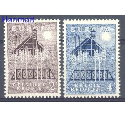 Znaczek Belgia 1957 Mi 1070-1071 Czyste **