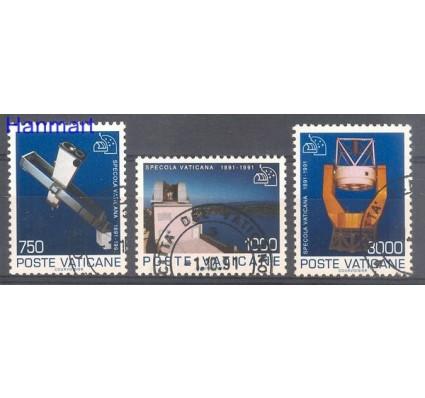 Watykan 1991 Mi 1040-1042 Stemplowane