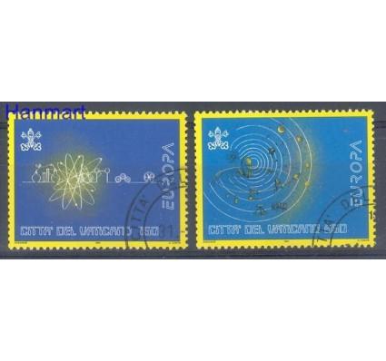 Znaczek Watykan 1994 Mi 1122-1123 Stemplowane