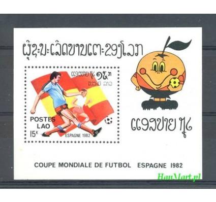 Znaczek Laos 1982 Mi bl 89 Czyste **