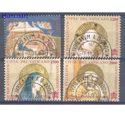 Watykan 2000 Mi 1358-1361 Stemplowane