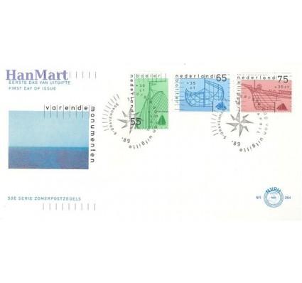 Holandia 1989 Mi 1361a-1363a FDC
