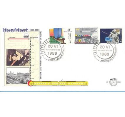 Znaczek Holandia 1989 Mi 1366-1368 FDC