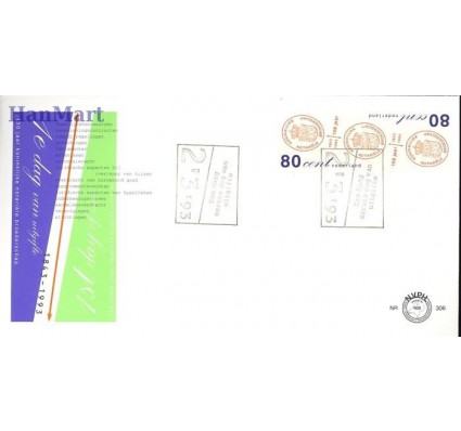 Holandia 1993 Mi 1468-1469 FDC