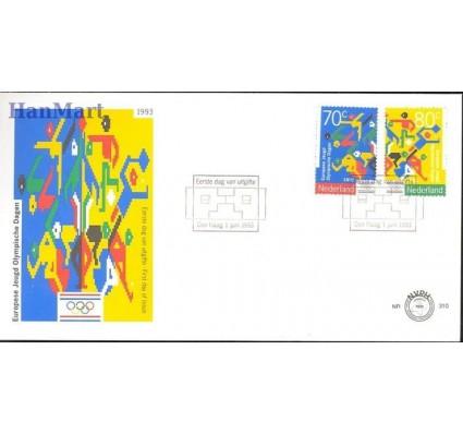 Znaczek Holandia 1993 Mi 1479-1480 FDC