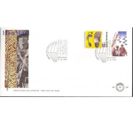 Znaczek Holandia 1994 Mi 1520-1521 FDC