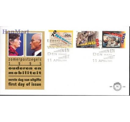 Znaczek Holandia 1995 Mi 1540-1542 FDC