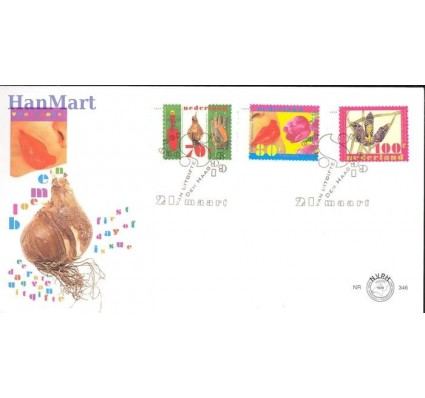 Holandia 1996 Mi 1566-1568 FDC