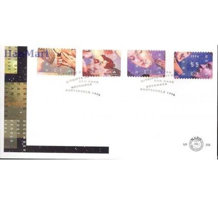 Holandia 1996 Mi 1599-1602 FDC