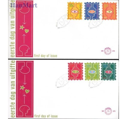 Holandia 1997 Mi 1635-1640 FDC