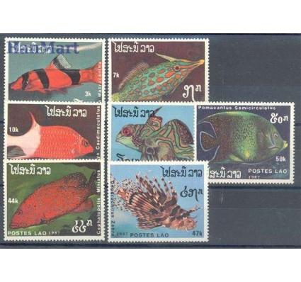 Znaczek Laos 1987 Mi 1038-1044 Czyste **