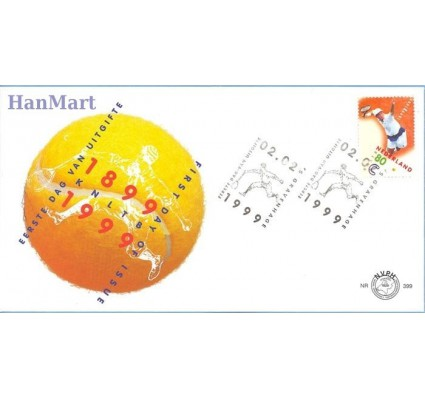 Holandia 1999 Mi 1708 FDC