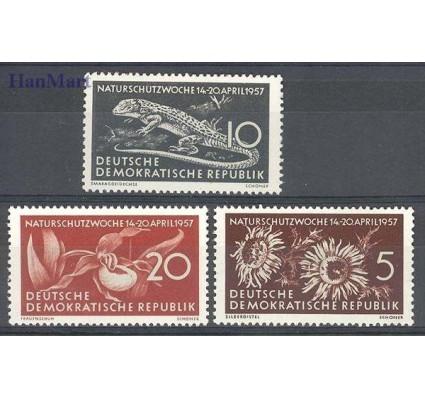 Znaczek NRD / DDR 1957 Mi 561-563 Czyste **