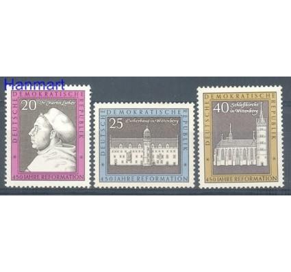 Znaczek NRD / DDR 1967 Mi 1317-1319 Czyste **