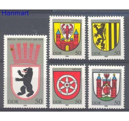 Znaczek NRD / DDR 1983 Mi 2817-2821 Czyste **