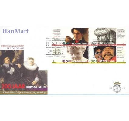 Znaczek Holandia 2000 Mi 1791-1800 FDC
