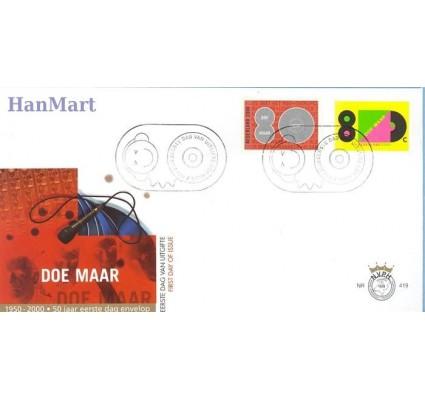 Znaczek Holandia 2000 Mi 1802-1803 FDC