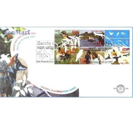 Znaczek Holandia 2001 Mi 1856-1860 FDC