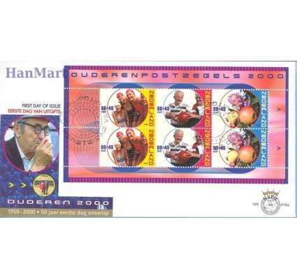 Znaczek Holandia 2000 Mi bl 64 FDC